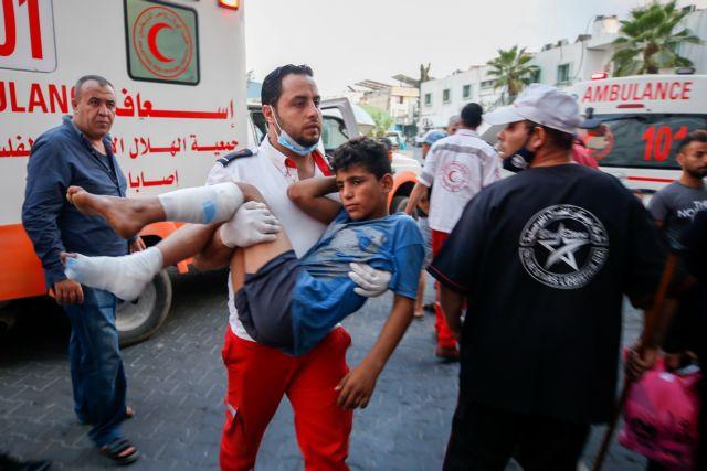 Νέες συγκρούσεις στη Λωρίδα της Γάζας με 41 τραυματίες Παλαιστίνιους