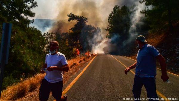 Γερμανικός Τύπος - Ευθύνη Ερντογάν για τις πυρκαγιές στην Τουρκία