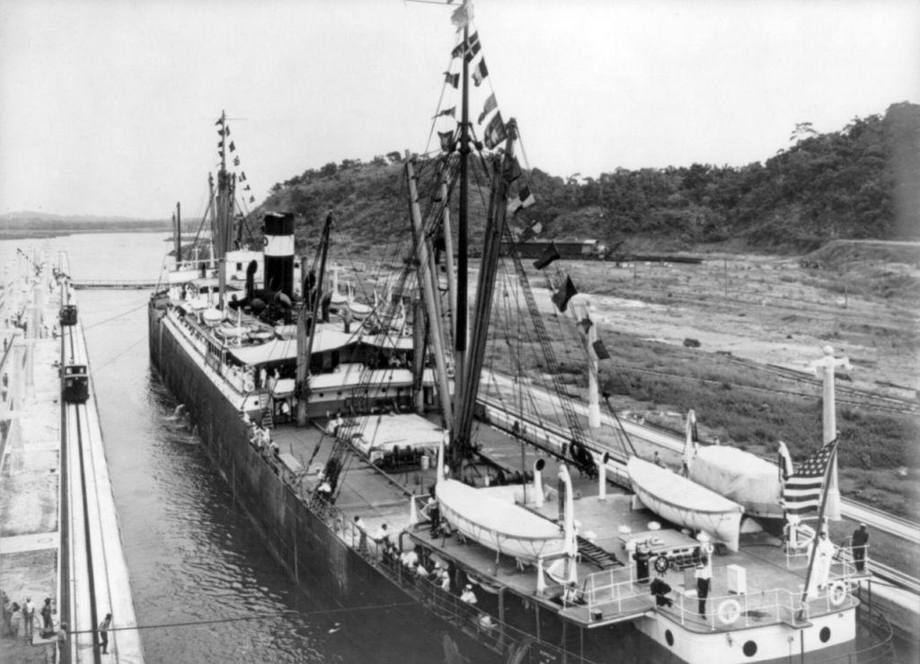 Σαν σήμερα το 1914 εγκαινιάζεται το Κανάλι του Παναμά