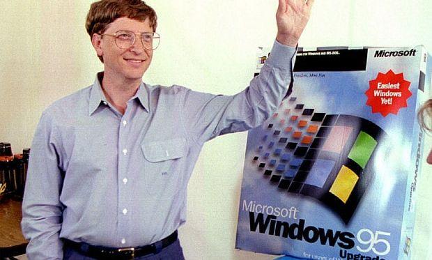 Windows '95 – To μεγάλο άλμα του Mπιλ Γκέιτς