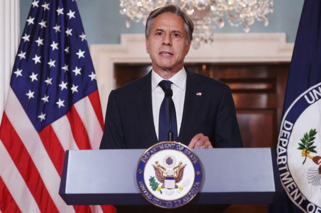 Μπλίνκεν – Θα συνεργαστούμε με τους Ταλιμπάν εάν τηρήσουν τις δεσμεύσεις τους