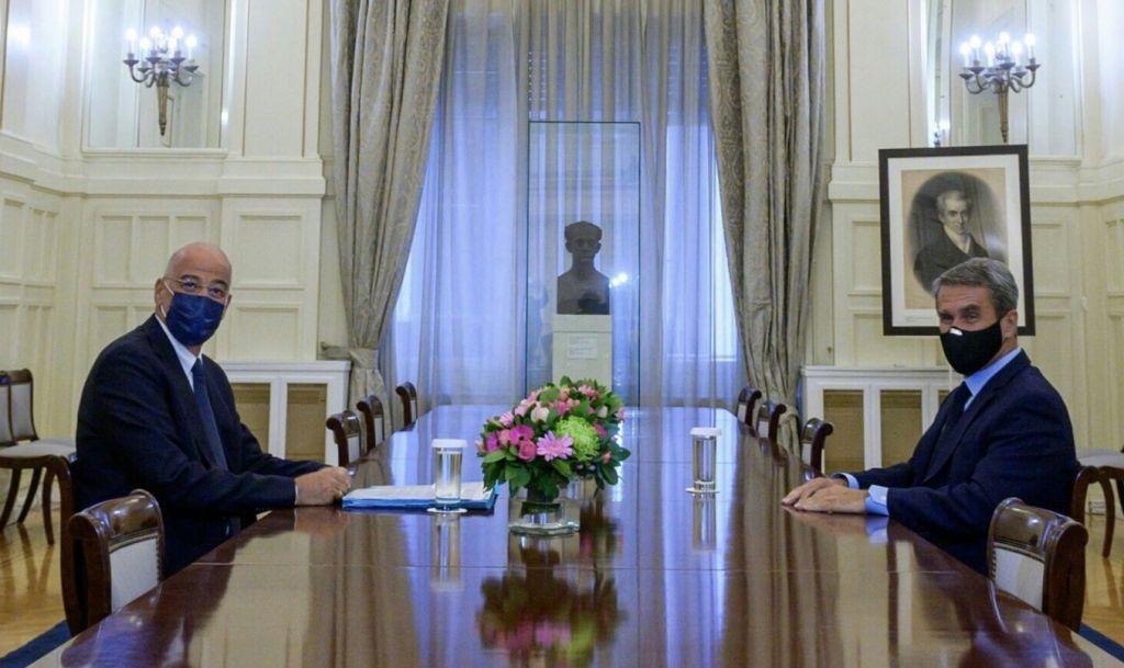 Λοβέρδος – Συνάντηση με Δένδια – Η Τουρκία συμπεριφέρεται ανοιχτά ως ταραξίας