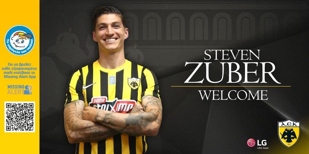 Επίσημο – Παίκτης της ΑΕΚ ο Ζούμπερ