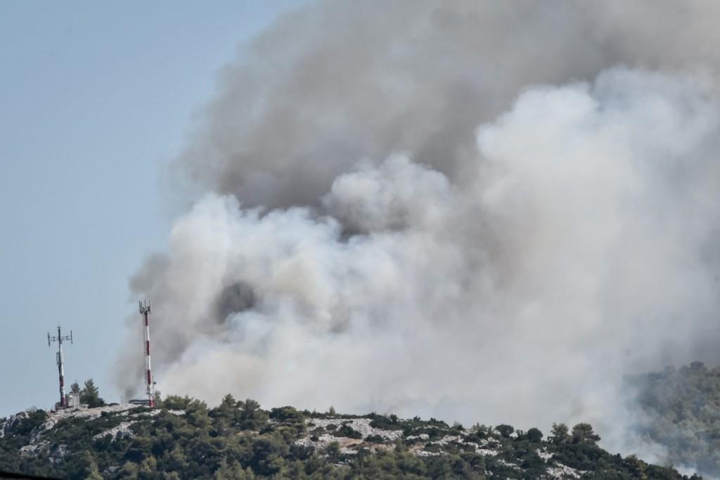 Μεγάλη φωτιά τώρα στην Άμφισσα – Ισχυρές δυνάμεις στην περιοχή