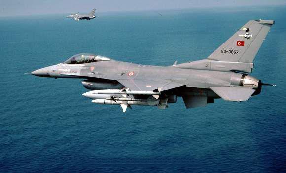 Υπερπτήσεις τουρκικών F-16 σε Ανθρωποφάγους και Μακρονήσι