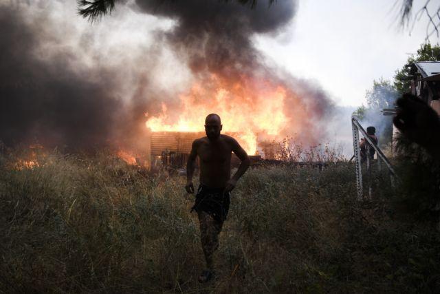 Συγκλονίζουν οι κάτοικοι της Βαρυμπόμπης – Δεν σώσαμε ούτε τα ρούχα μας – Γυρίσαμε και ήταν όλα καμένα
