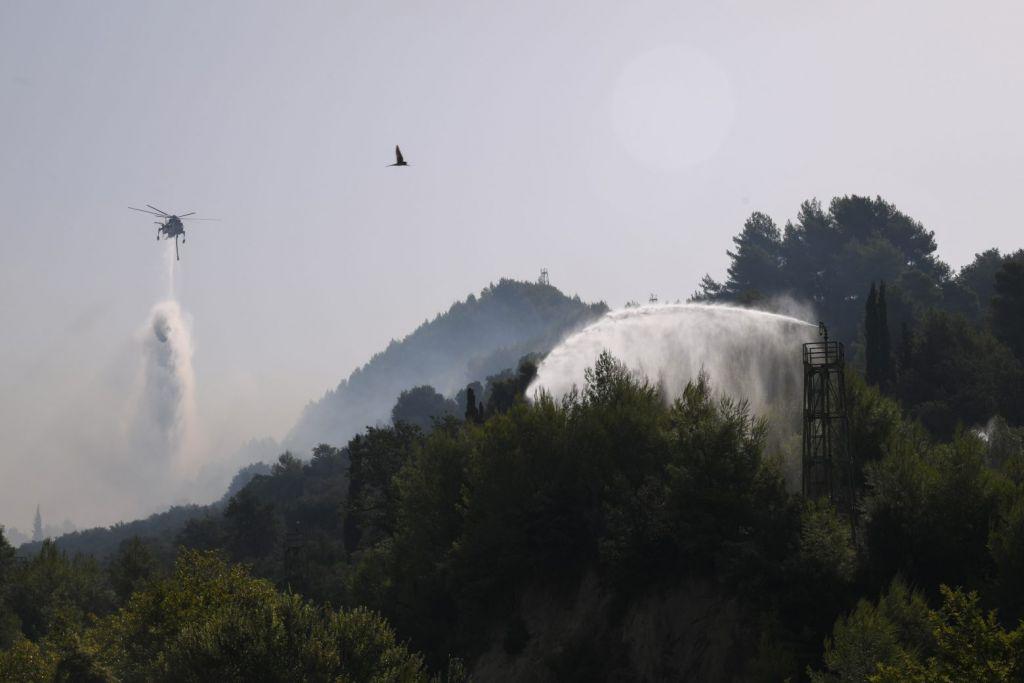Φαρμάκης – Κοινή λογική ότι η φωτιά στην Αρχαία Ολυμπία ξεκίνησε από εμπρησμό