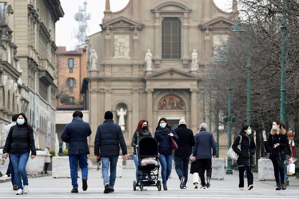 Ιταλία – Αυξήθηκαν θάνατοι, κρούσματα και νοσηλείες το τελευταίο 24ωρο