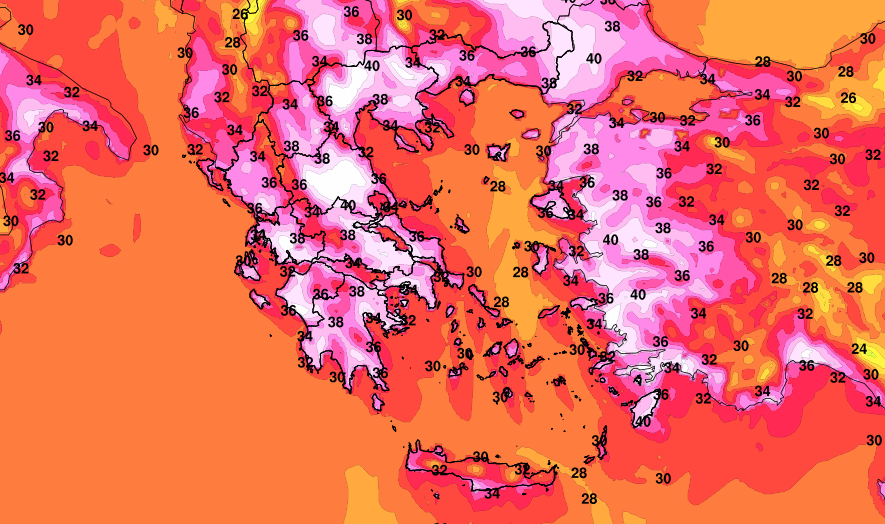 Heatwave – Which areas will hit 46 degrees [Maps]