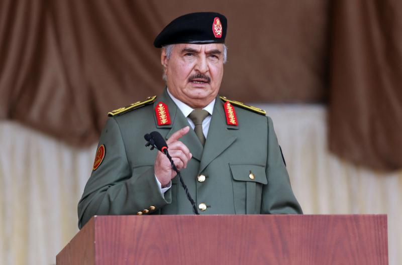 Λιβύη – Ο στρατιωτικός εισαγγελέας της Μισράτα διέταξε τη σύλληψη του Χαλίφα Χάφταρ