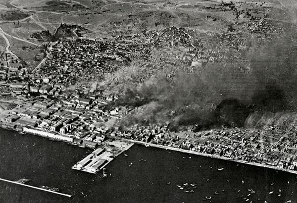 Θεσσαλονίκη, Αύγουστος 1917 – Η τρομερή πύρινη συμφορά