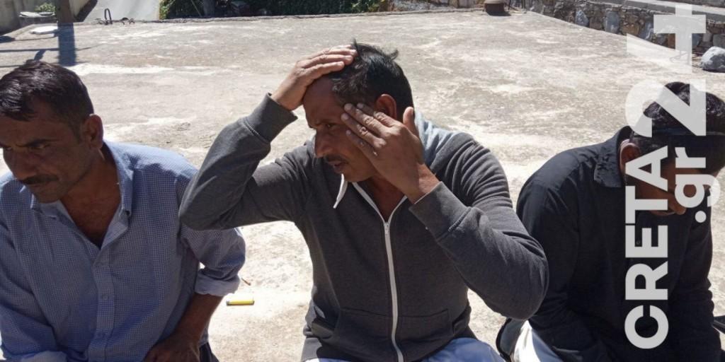 Λασίθι – Παραδόθηκαν οι επτά δράστες της ρατσιστικής επίθεσης