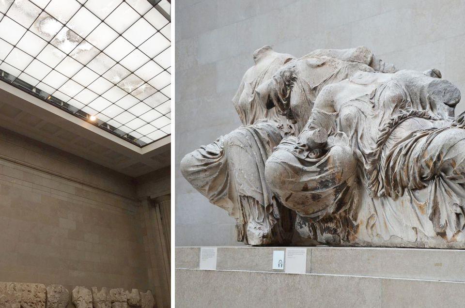 Βρετανικό Μουσείο – Εικόνες εγκατάλειψης, μπήκε νερό από την οροφή – Η αντίδραση της Μενδώνη