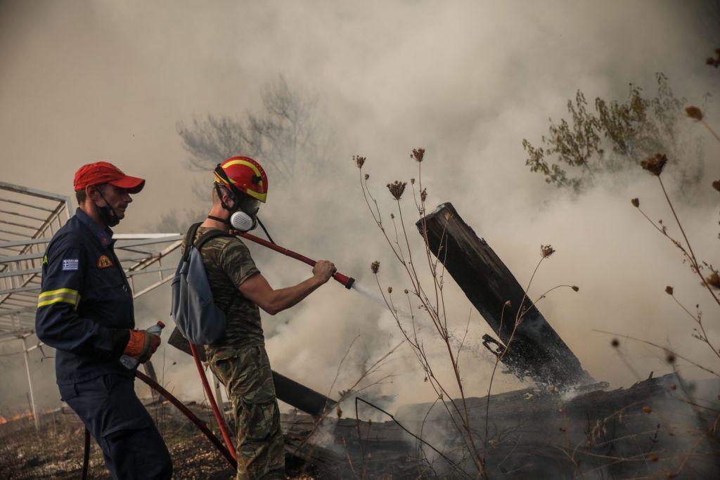 Μακεδονία: Καλύτερη η εικόνα στα πύρινα μέτωπα
