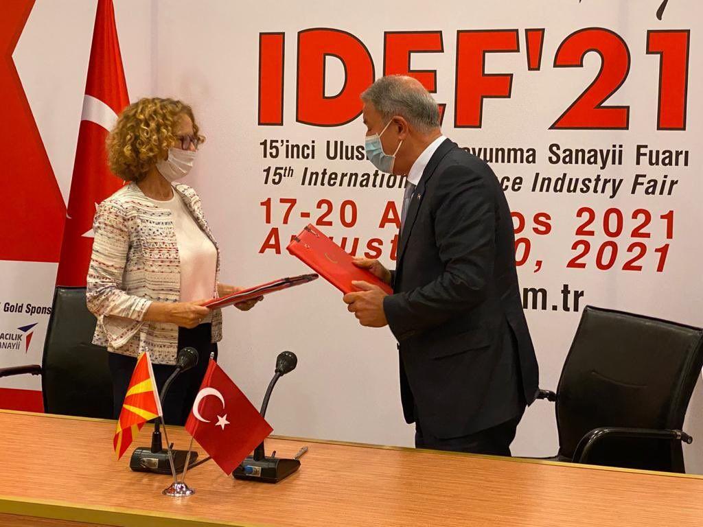 Βόρεια Μακεδονία – Υπέγραψε 5ετή στρατιωτική και οικονομική συμφωνία με την Τουρκία