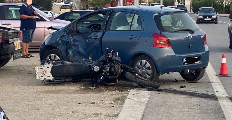 Λάρισα – Σοβαρά τραυματισμένος ένας 28χρονος μετά από τροχαίο στον Αγιόκαμπο