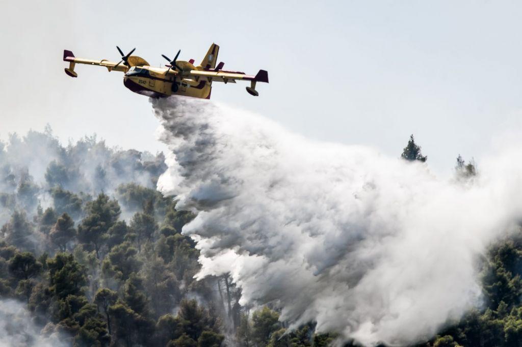 Βίλια – Κοντά στο Πανόραμα και στην Οινόη οι φλόγες – Έκκληση για περισσότερα εναέρια μέσα