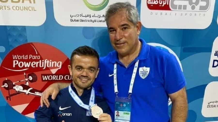 Χάλκινο μετάλλιο ο Μπακοχρήστος στην Αρση βαρών σε πάγκο