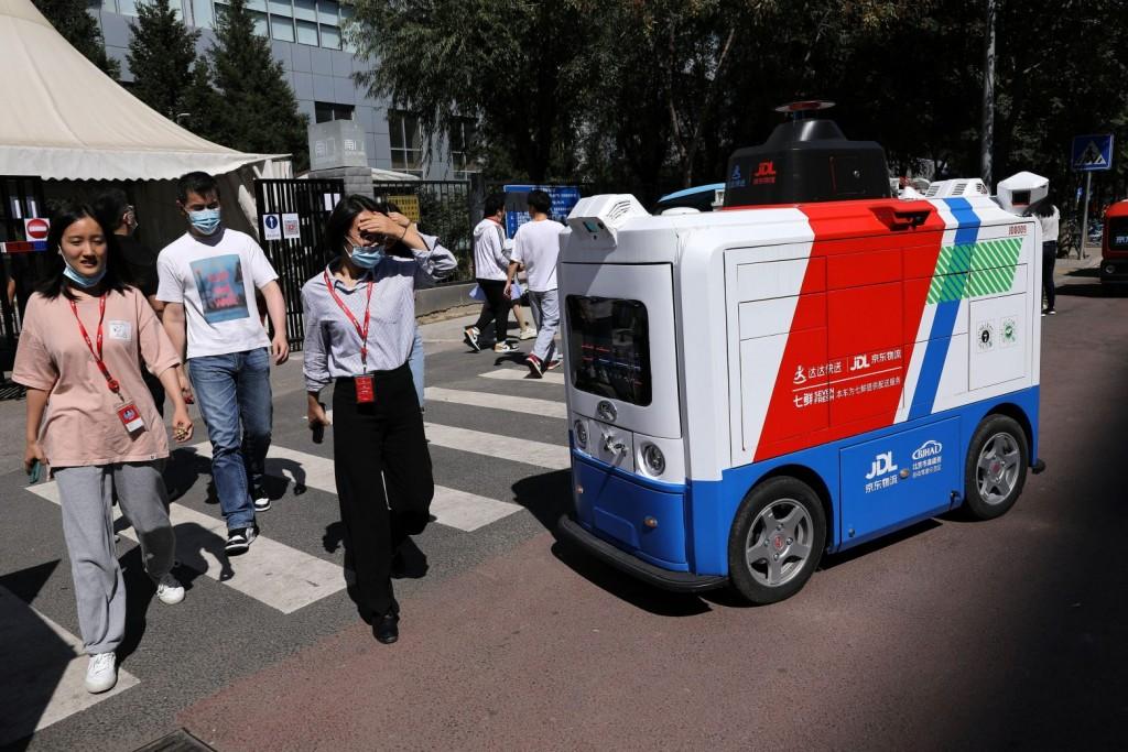 Χιλιάδες ρομπότ προσλαμβάνονται για κατ' οίκον παραδόσεις στην Κίνα