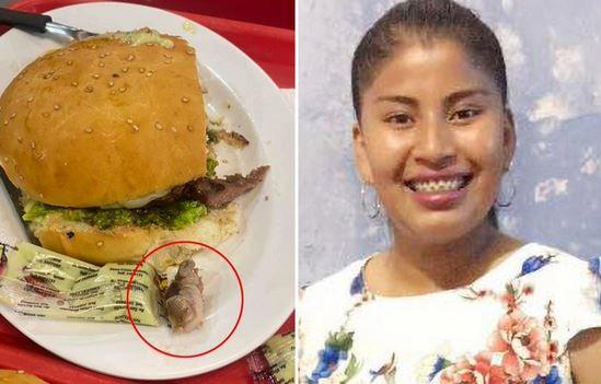 Βολιβία – Βρήκε ανθρώπινο δάχτυλο μέσα στο μπέργκερ που της σέρβιραν