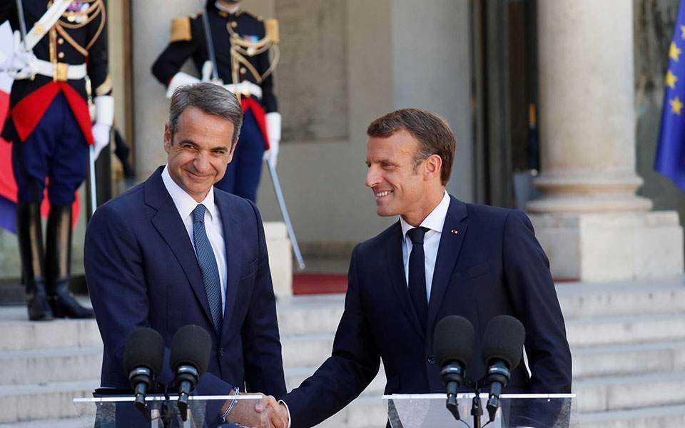 Συμφωνία Ελλάδας-Γαλλίας –  Στο επίκεντρο ο σεβασμός του Διεθνούς Δικαίου και της Σύμβασης των ΗΕ για το Δίκαιο της Θάλασσας