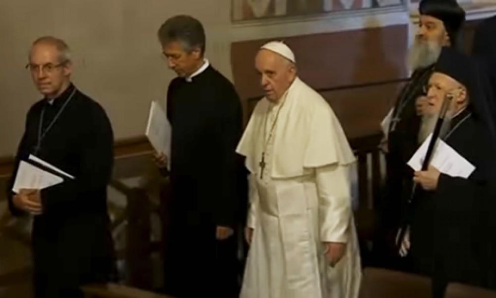 Κλιματική αλλαγή – «Ακούστε την κραυγή της Γης», καλούν Βαρθολομαίος και πάπας Φραγκίσκος τους πιστούς