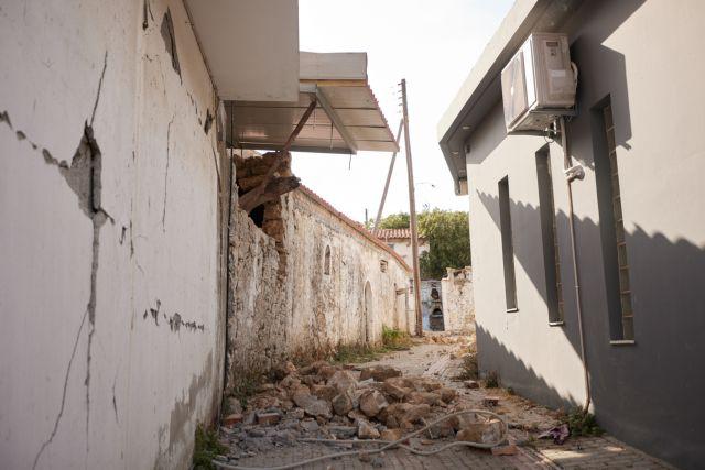 Σεισμός στην Κρήτη – 359 μη κατοικήσιμα κτήρια μόνο στις πρώτες αυτοψίες
