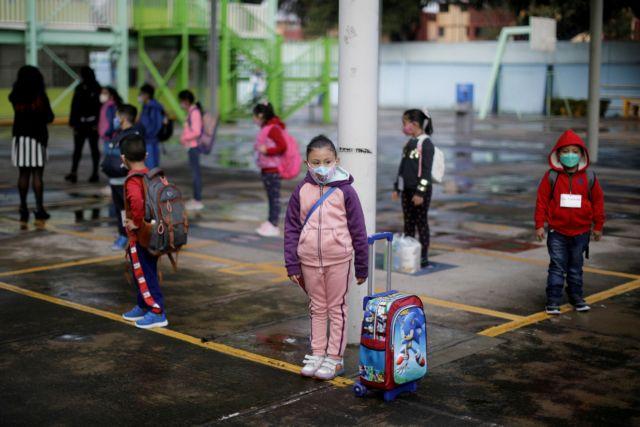 Μεξικό – Κοντά στις 3.500 τα κρούσματα από κοροναϊό τη Δευτέρα