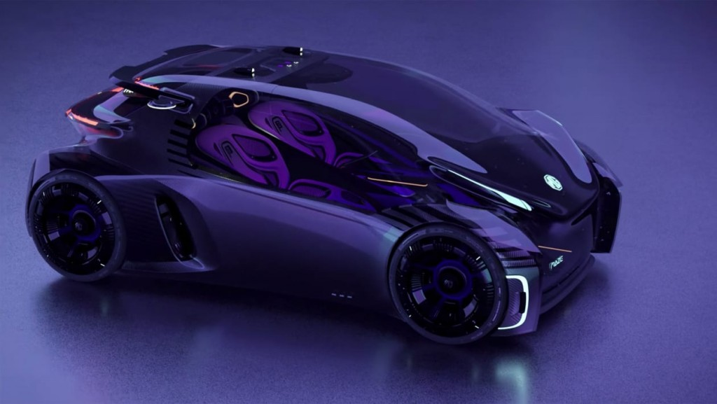 MG Maze Concept: Παιχνιδομηχανή σε τέσσερις τροχούς