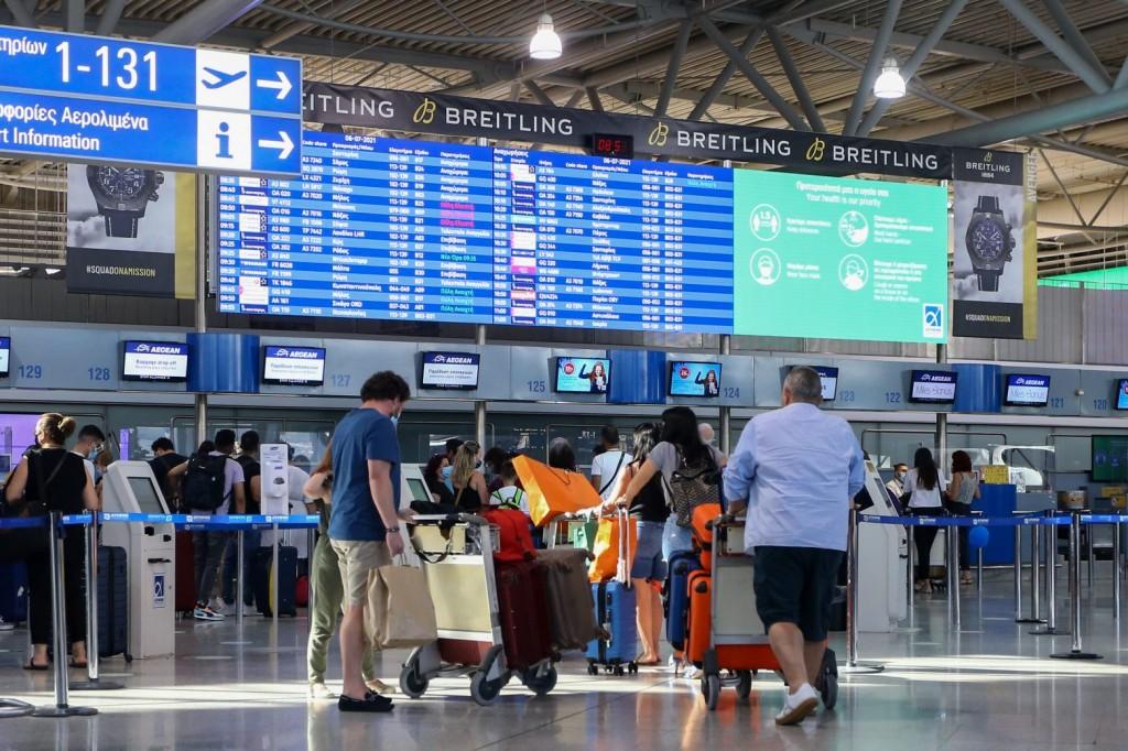 Notam – Απαραίτητη η προσκόμιση αρνητικού self test στις πτήσεις εσωτερικού για τους επιβάτες από 4 ετών