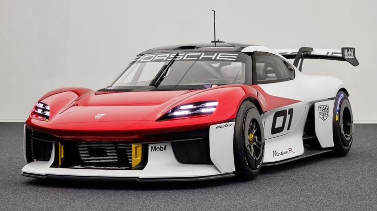 Porsche Mission R Concept: Ηλεκτρικοί αγώνες και στο… φόντο Cayman
