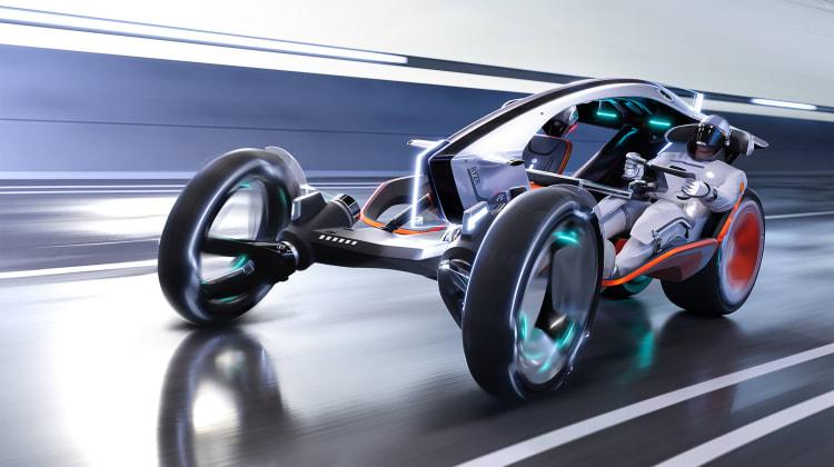 SAIC R RYZR Concept: Η φαντασία στην μετακίνηση