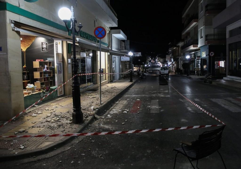 Κρήτη – «Το 80% των κτισμάτων του Αρκαλοχωρίου έχει ζημιές»