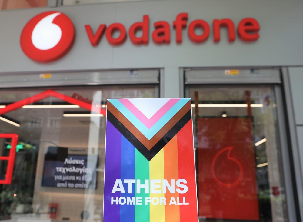 Η Vodafone στηρίζει την διαφορετικότητα με το μήνυμα «Athens Home for All»