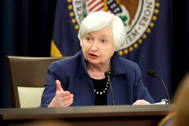 Γέλεν – Έκκληση προς το Κογκρέσο για την αύξηση του ορίου του χρέους