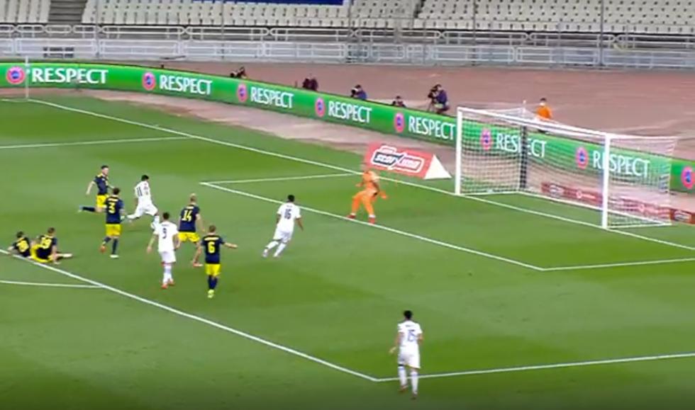 Το γκολ του Μπακασέτα για το 1-0 της Εθνικής
