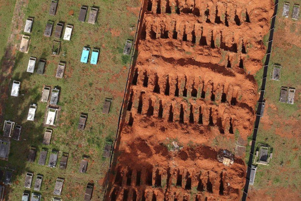Βραζιλία – Ξεπέρασε και τους 580.000 νεκρούς από την COVID-19