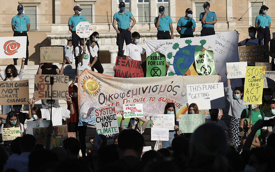 Κλιματική κρίση – Οι νέοι της Ελλάδας ένωσαν τις φωνές του με τον κόσμο