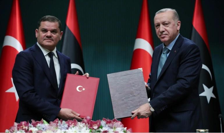 Ερντογάν στον πρωθυπουργό της Λιβύης – Δεν θα κάνετε τίποτα χωρίς την έγκρισή μου