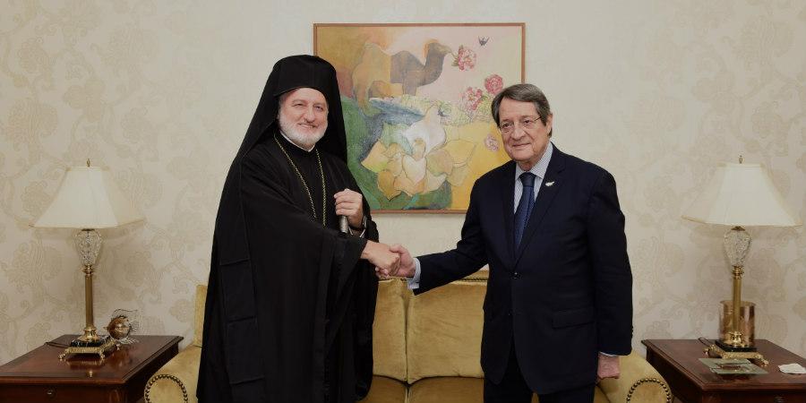 Κύπρος – Συναντήθηκε με τον Ελπιδοφόρο ο Αναστασιάδης – «Το θέμα έληξε»