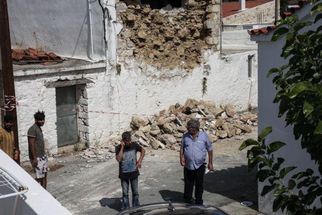 Κρήτη – Ερείπια εκατοντάδες σπίτια από τον σεισμό – Φάντασμα το Αρκαλοχώρι