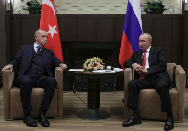 Πούτιν – Ερντογάν – Τι επιδιώκει η Αγκυρα από τη στενή προσέγγιση με τη Μόσχα