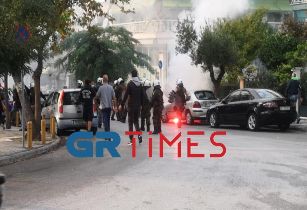 Θεσσαλονίκη – Νέα σοβαρά επεισόδια πριν το αντιφασιστικό συλλαλητήριο στην Σταυρούπολη