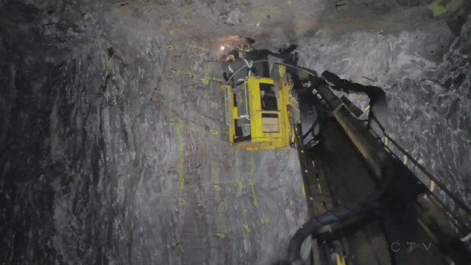 Καναδάς – 39 μεταλλωρύχοι παραμένουν παγιδευμένοι σε ορυχείο από την Κυριακή