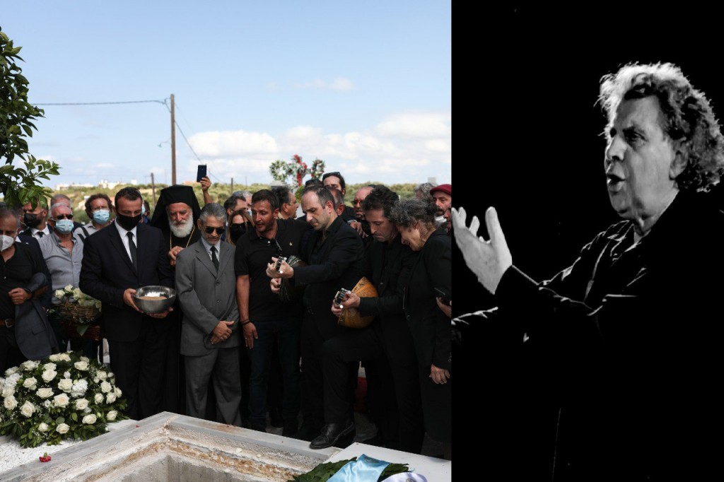 Μίκης Θεοδωράκης – «Τον αντρειωμένο μην τον κλαις» – «Αθάνατος» ο παγκόσμιος 'Ελληνας