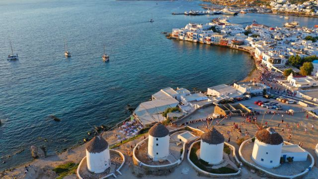 Southern Aegean – Arrivals soar in September – On which islands