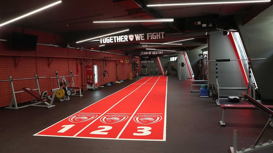 Ολυμπιακός – Το νέο γυμναστήριο του Θρύλου