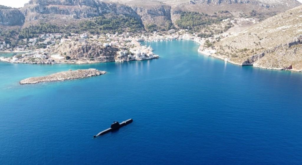 Στο Καστελόριζο το υποβρύχιο «Παπανικολής» – Το μήνυμα του Α/ΓΕΕΘΑ – Στον ύπνο πιάστηκαν οι Τούρκοι
