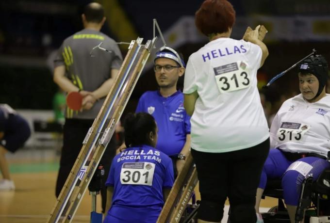 Παραολυμπιακοί Αγώνες – Δέκατο μετάλλιο για την Ελλάδα – Χάλκινο το ομαδικό στο άθλημα μπότσια