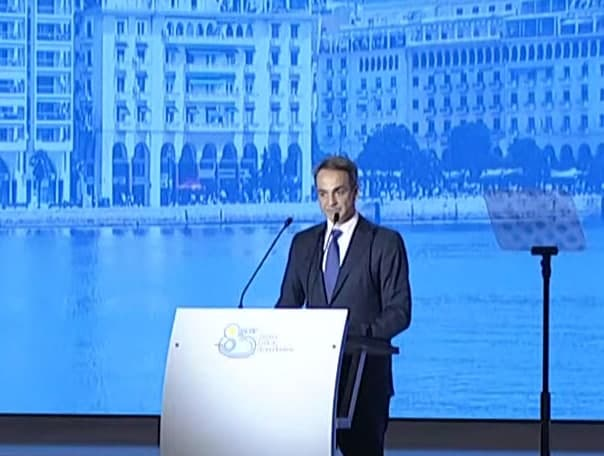 Greek PM to Thessaloniki International Fair- We revise the growth target to 5.9%
